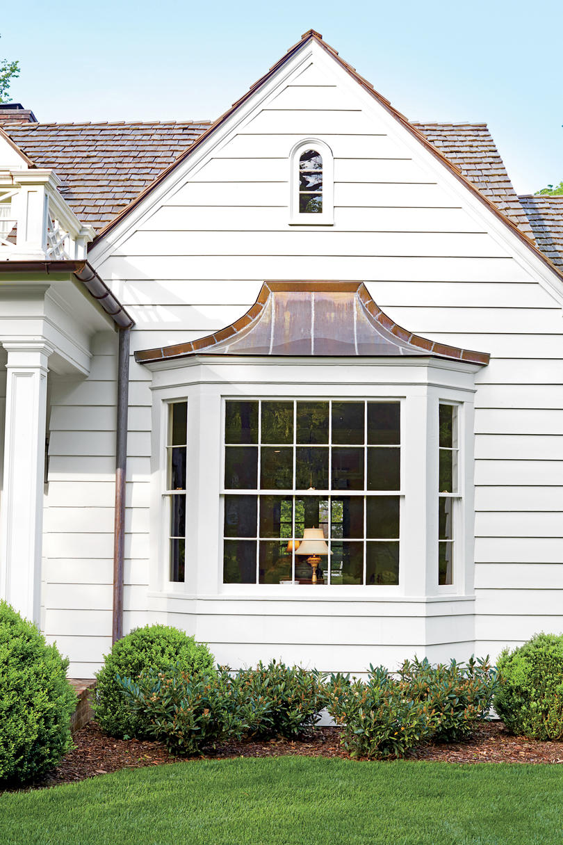 Best exterior makeover southern living for High windows in house