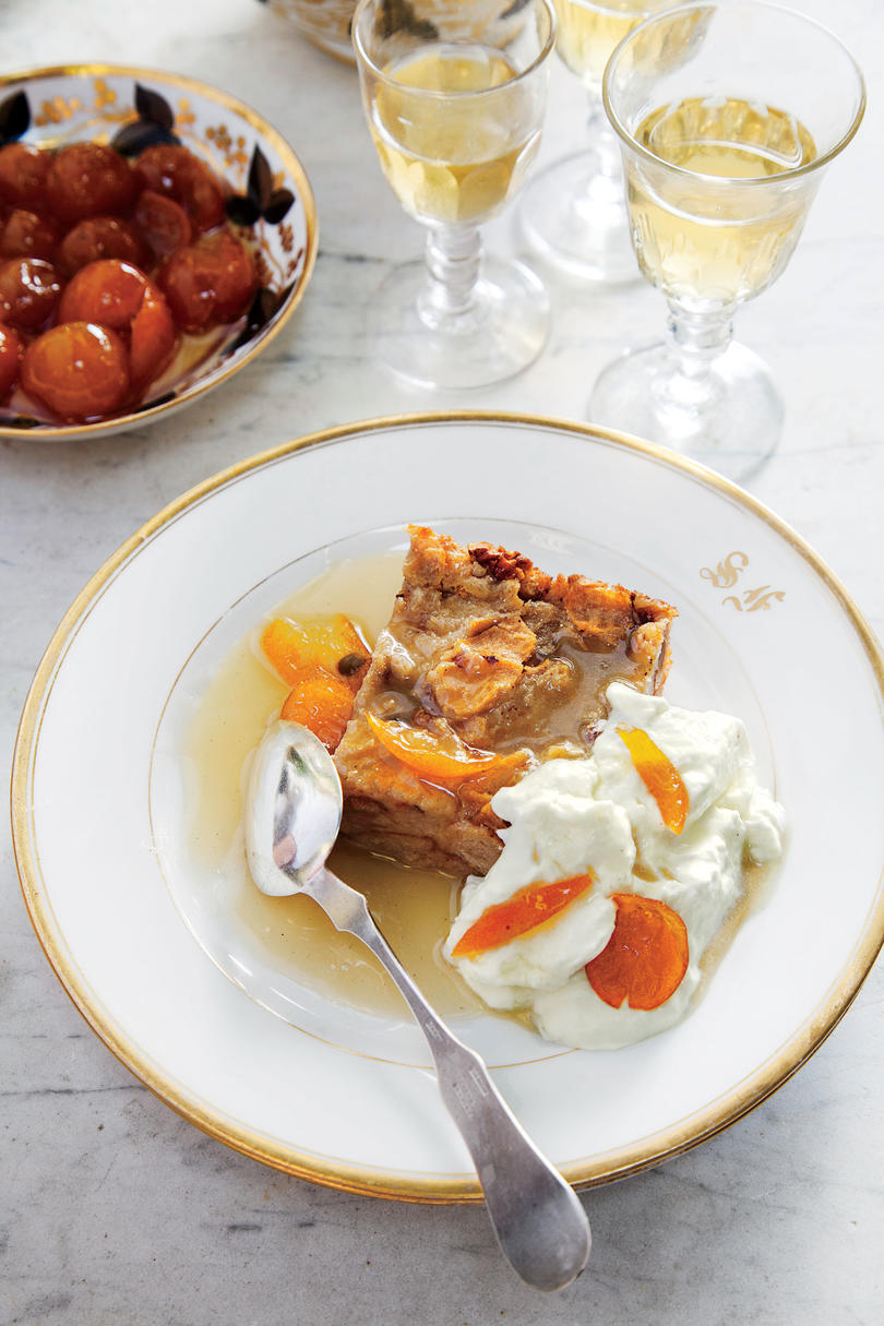 Julia's Orange Bread Pudding