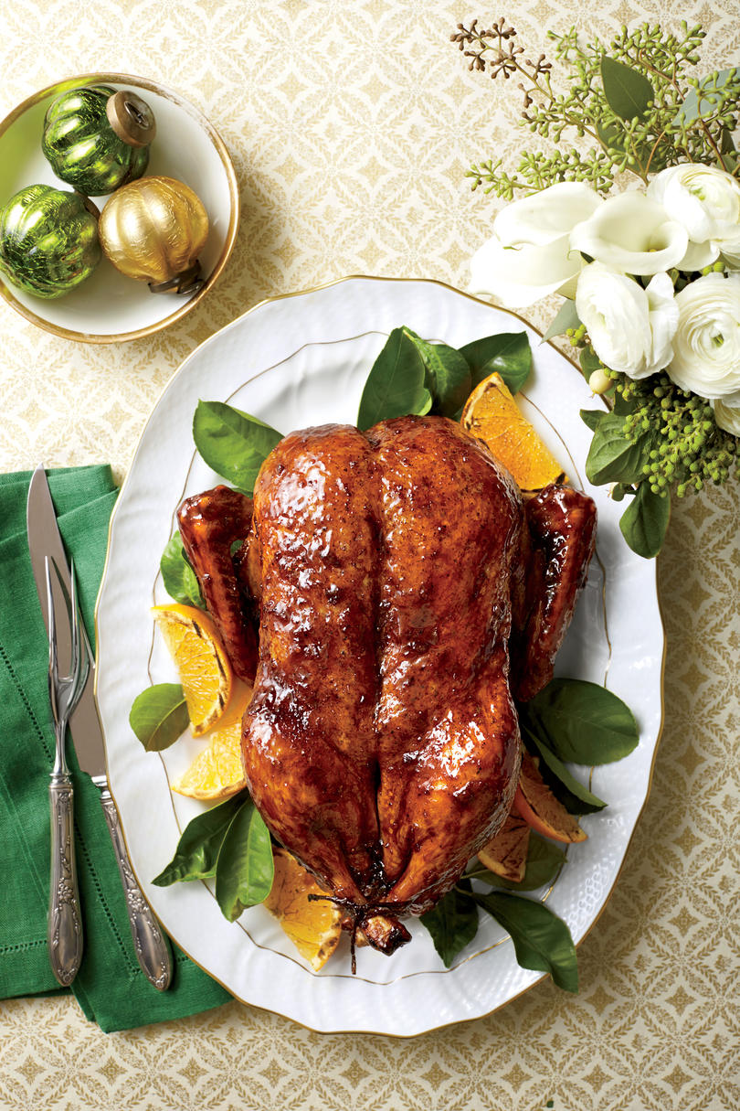 Classic Roasted Duck with Orange-Bourbon-Molasses Glaze