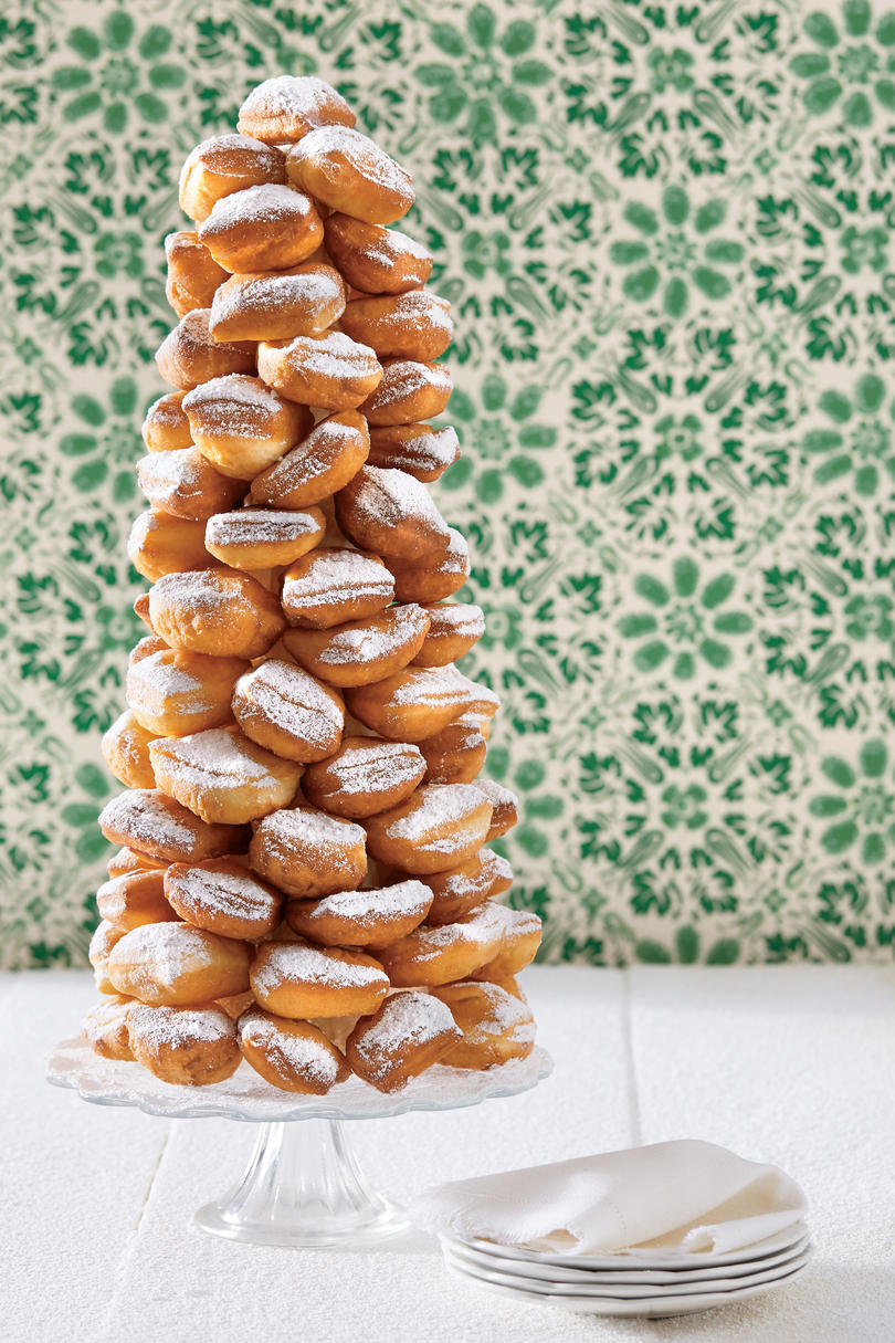 Praline Cream-Beignet Tower