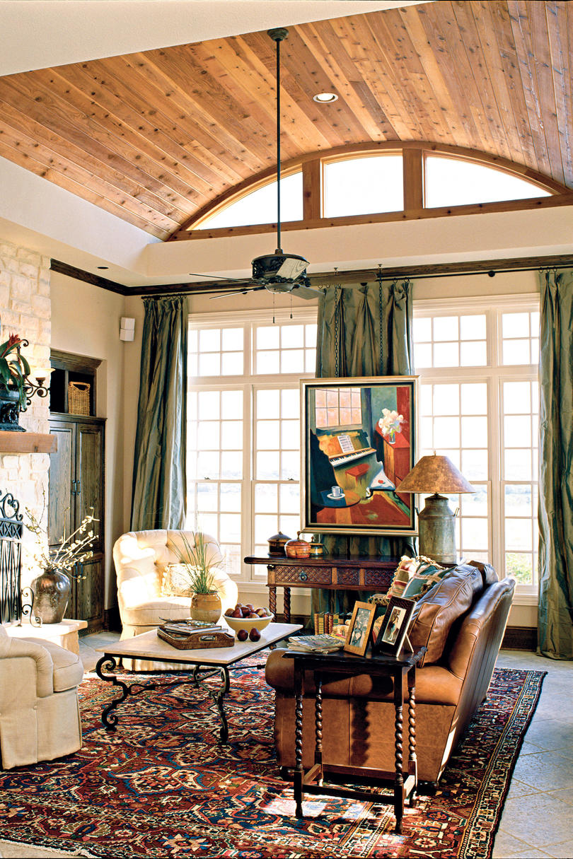Get Creative With Your Ceiling 106 Living
