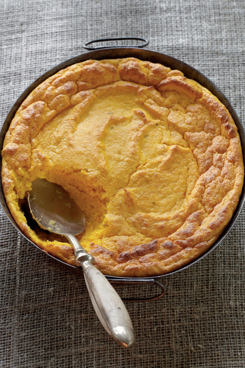 Butternut Squash Spoon Bread