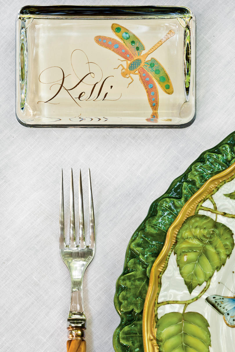 Use Double-Duty Place Cards
