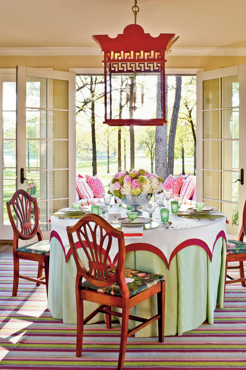 summer table setting ideas - southern living