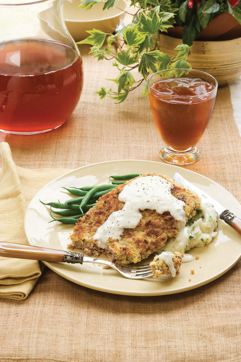 Quick and easy dinner recipes southern classics made simple quick and easy southern recipes chicken fried steak forumfinder Image collections