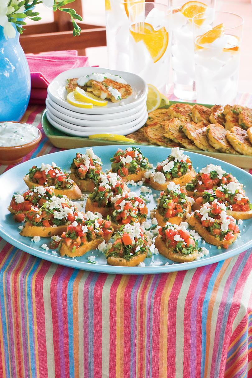 Healthy Appetizer Recipes And Party Snacks- Southern Living