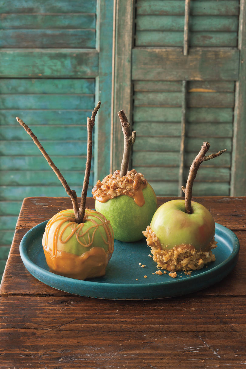 Southern-Style Caramel Apples