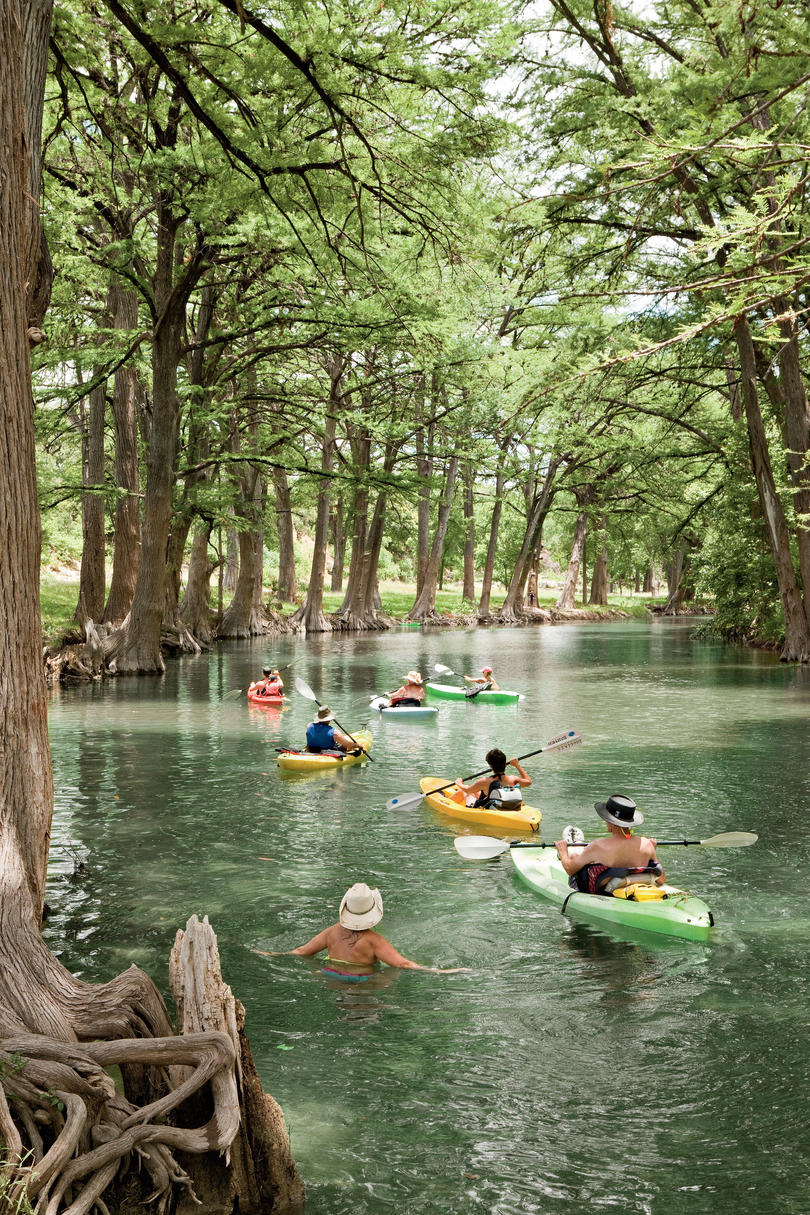 1. Kayak the Medina River