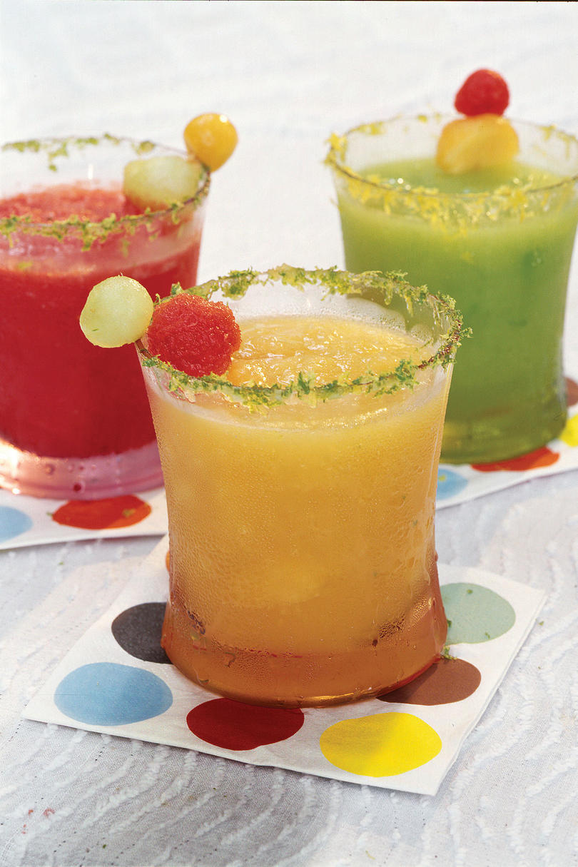 Punch and Cocktail Summer Drink Recipes: Cantaloupe Cooler