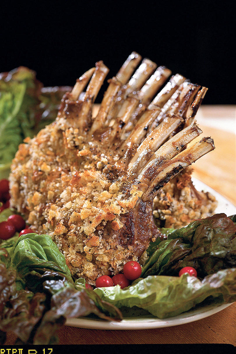 Dijon Rack of Lamb
