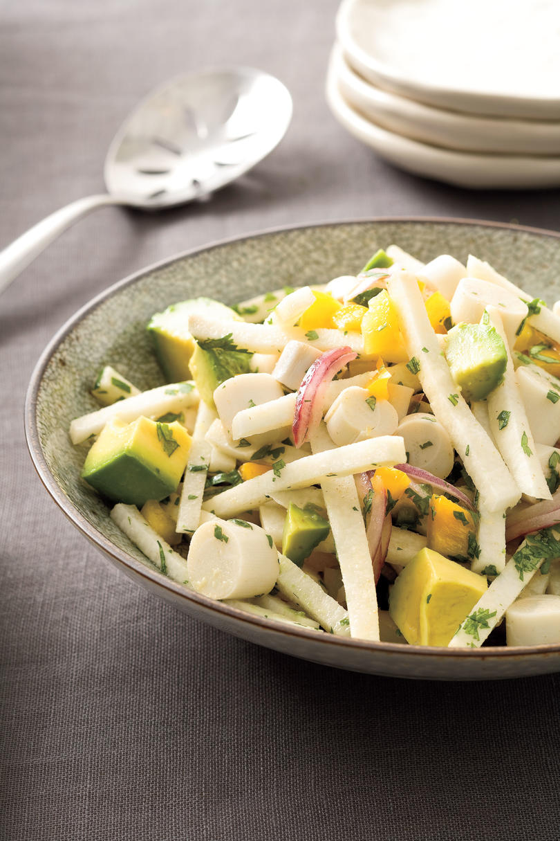 February Hearts of Palm-and-Jicama Salad