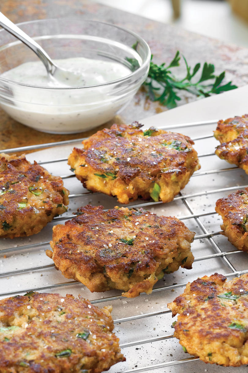 Tuna Cornbread Cakes recipe