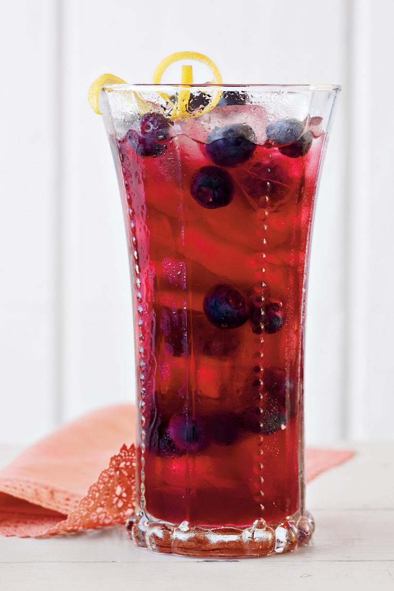 Lemon-Blueberry Sweet Tea