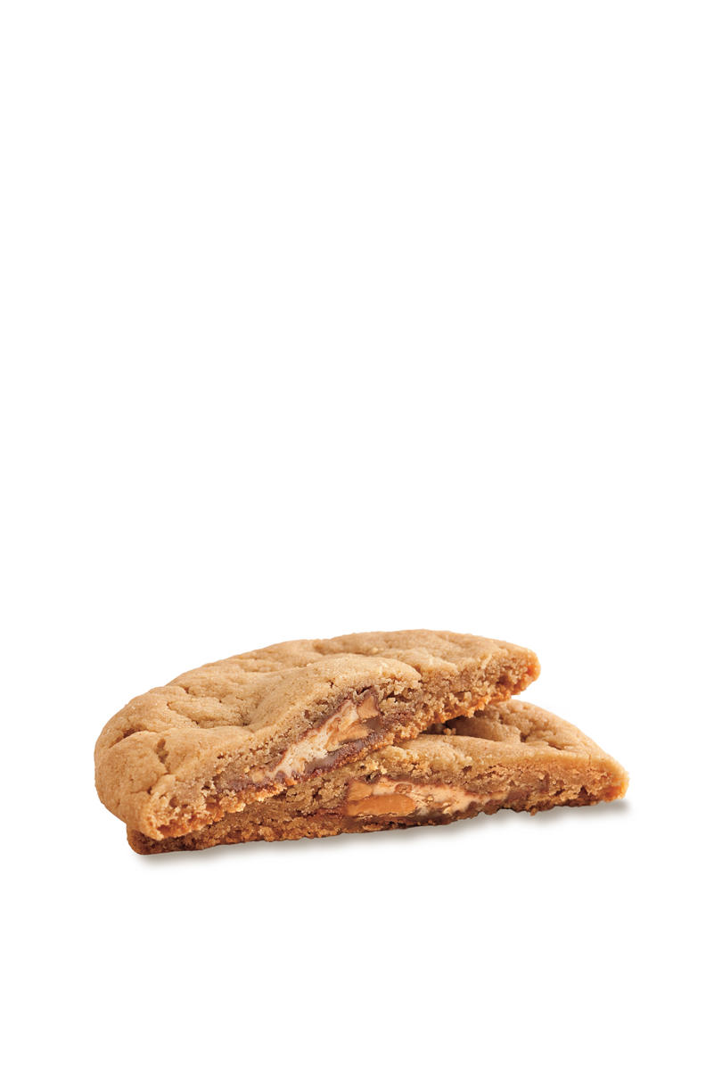 Christmas Cookie Recipes: Candy Bar-Peanut Butter Cookies