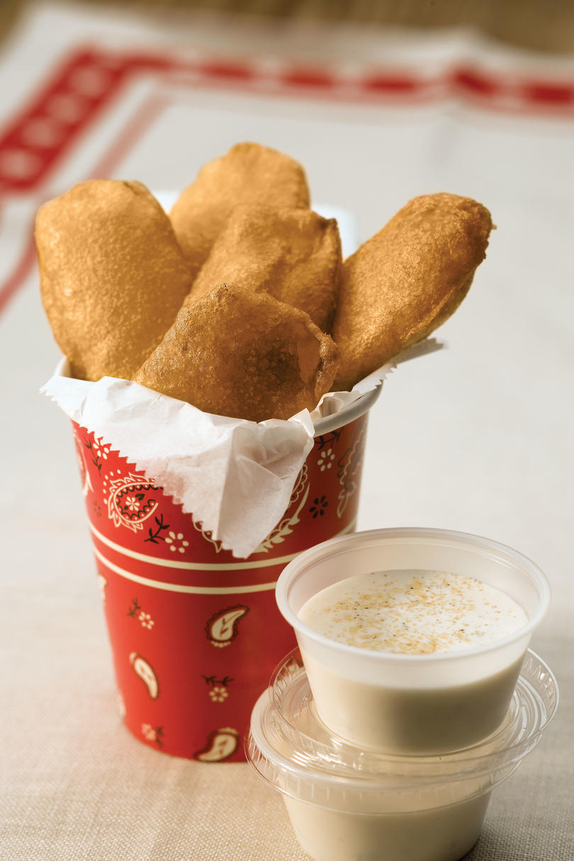 Beer-Batter Fried Pickles
