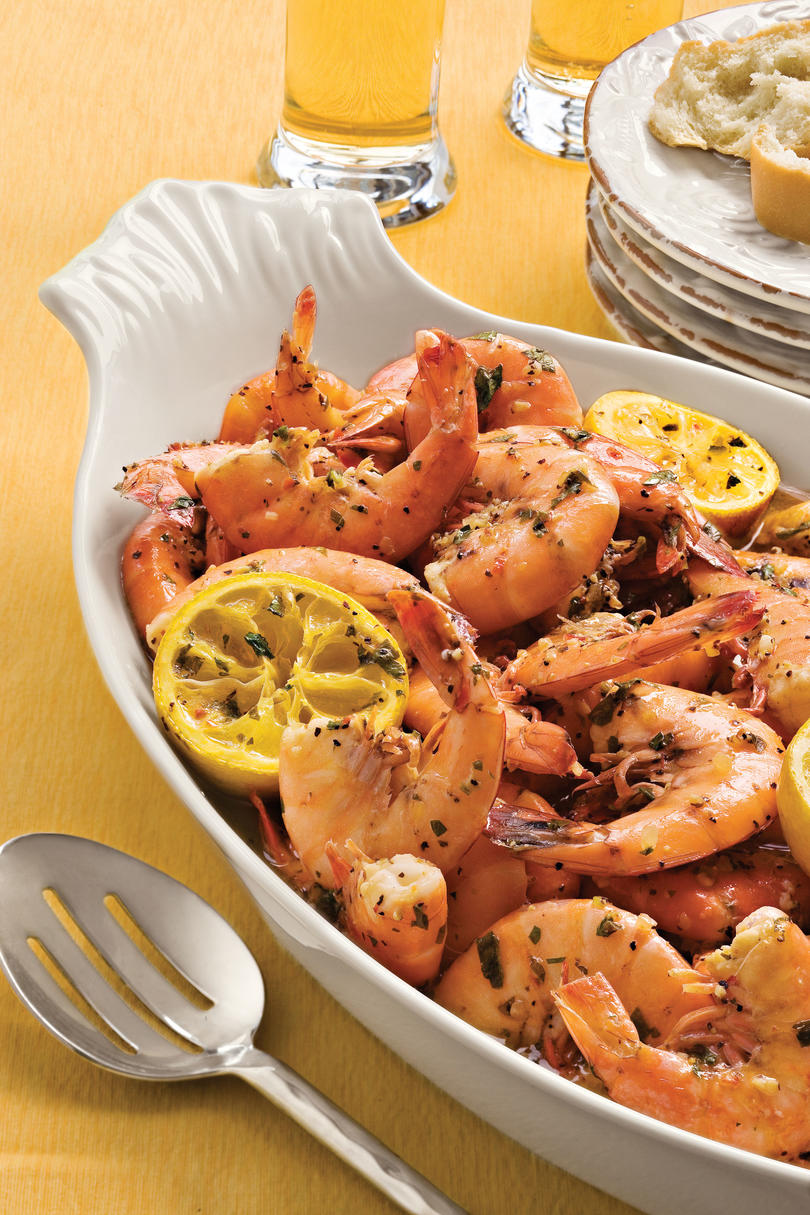 Seafood Ideas For Dinner Party Part - 25: Easy, Healthy Seafood Recipes: Beach Shrimp