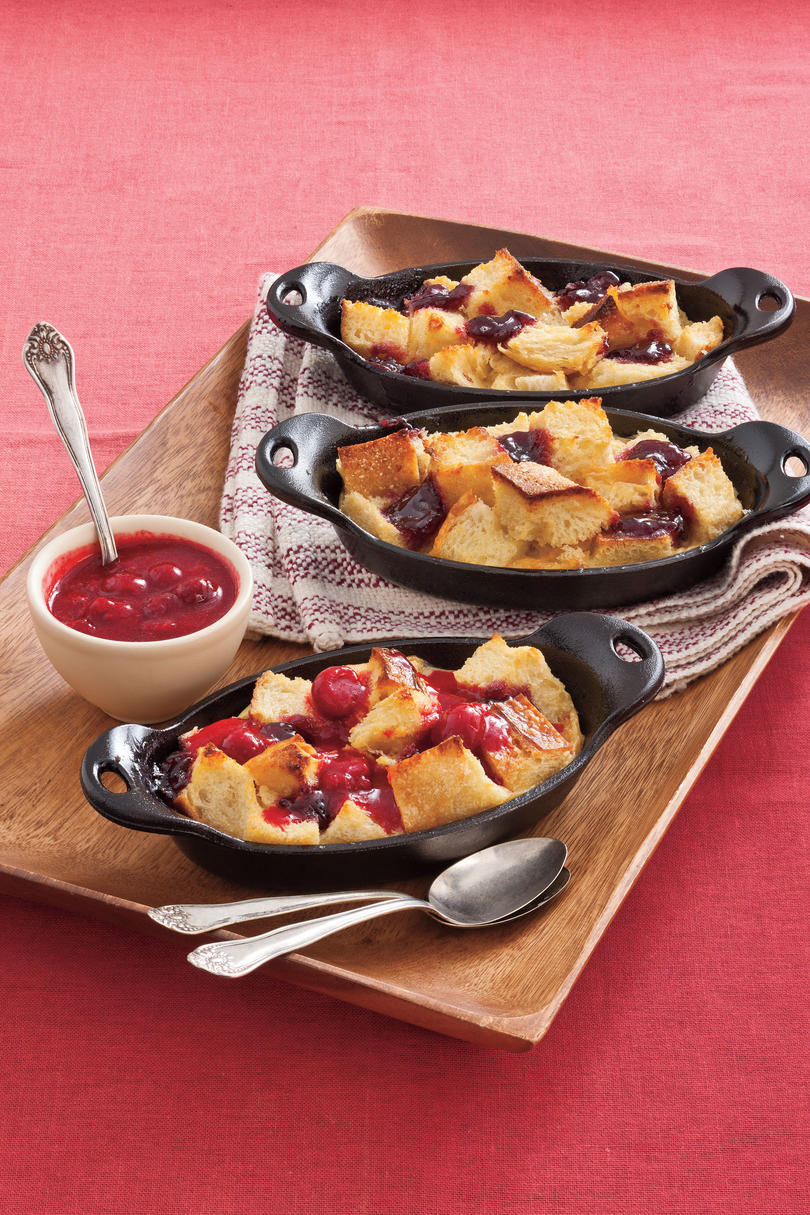 Healthy Desserts: Berry Bread Pudding