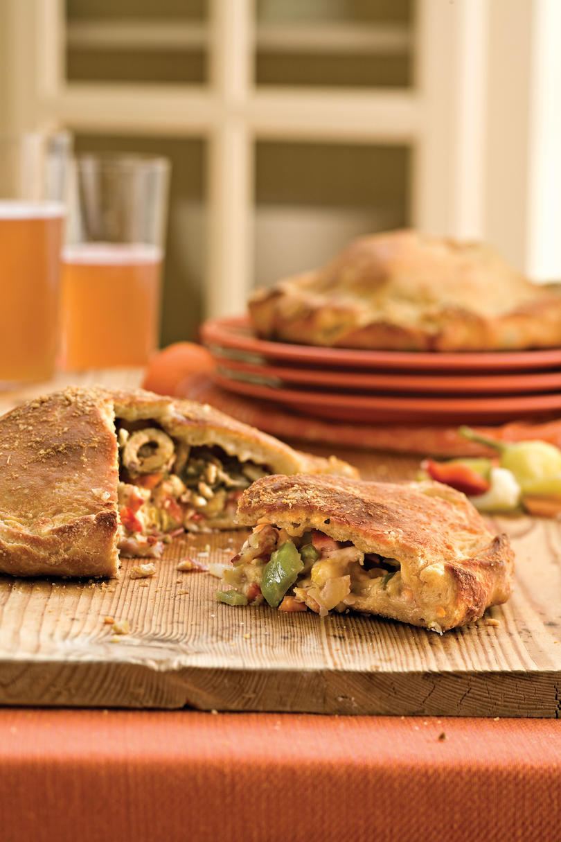 Pizza Recipes: Muffuletta Calzones Recipes