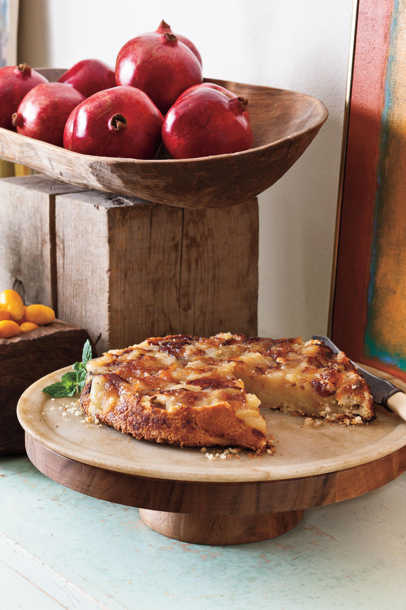 Upside-Down Apple Tart