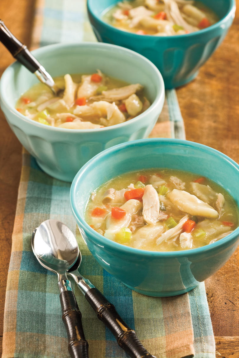 Easy Chicken and Dumplings