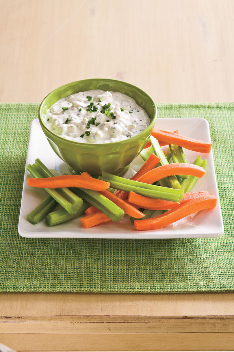 Fourth of July Menu: Blue Cheese Ranch Dip