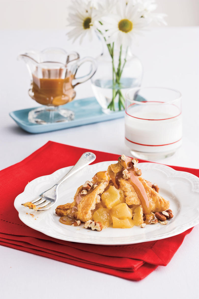 Southern Living Recipe: Quick Apple Dumpling Bundles