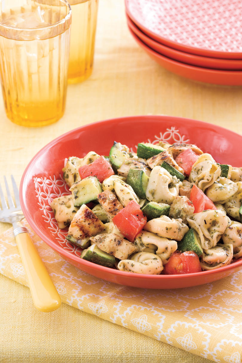 Easy Pasta Recipes: Grilled Chicken-and-Veggie Tortellini