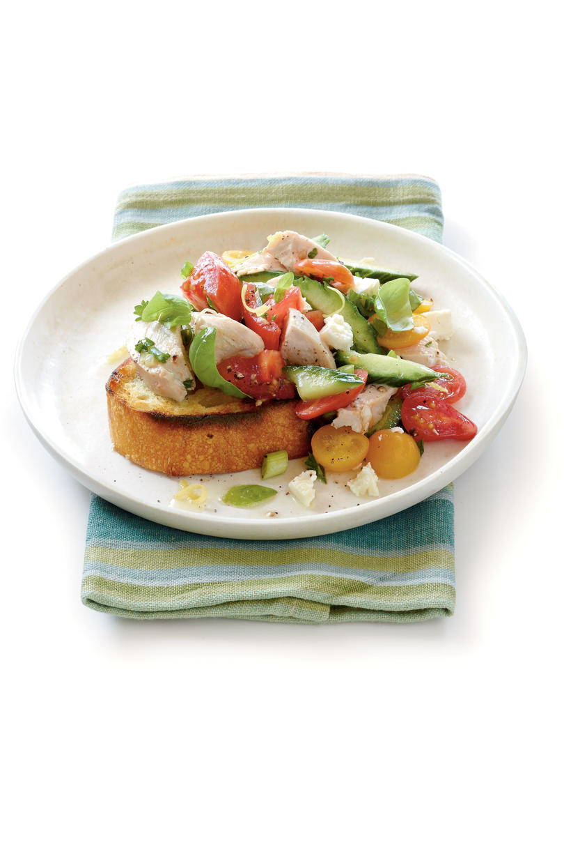Tomato-Chicken Salad