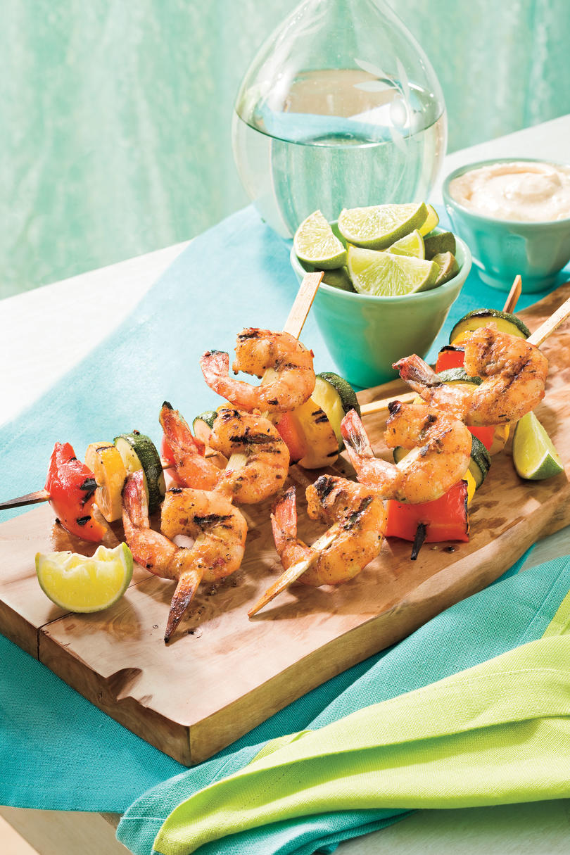 Easy Grilled Kabobs Recipes - Southern Living