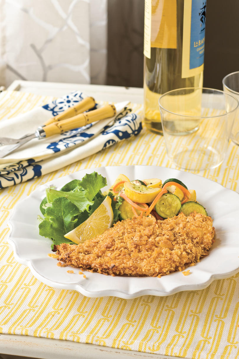 Southern Living Recipe: Crispy Oven-Fried Catfish
