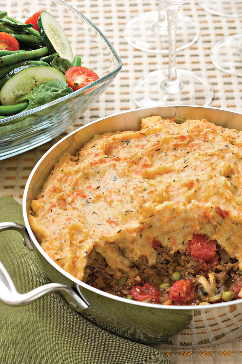40 quick ground beef recipes southern living for Meals that can be made with ground beef