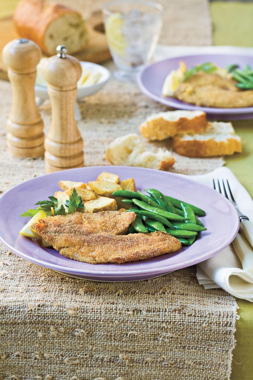 Natalie's Cajun-Seasoned Pan-Fried Tilapia