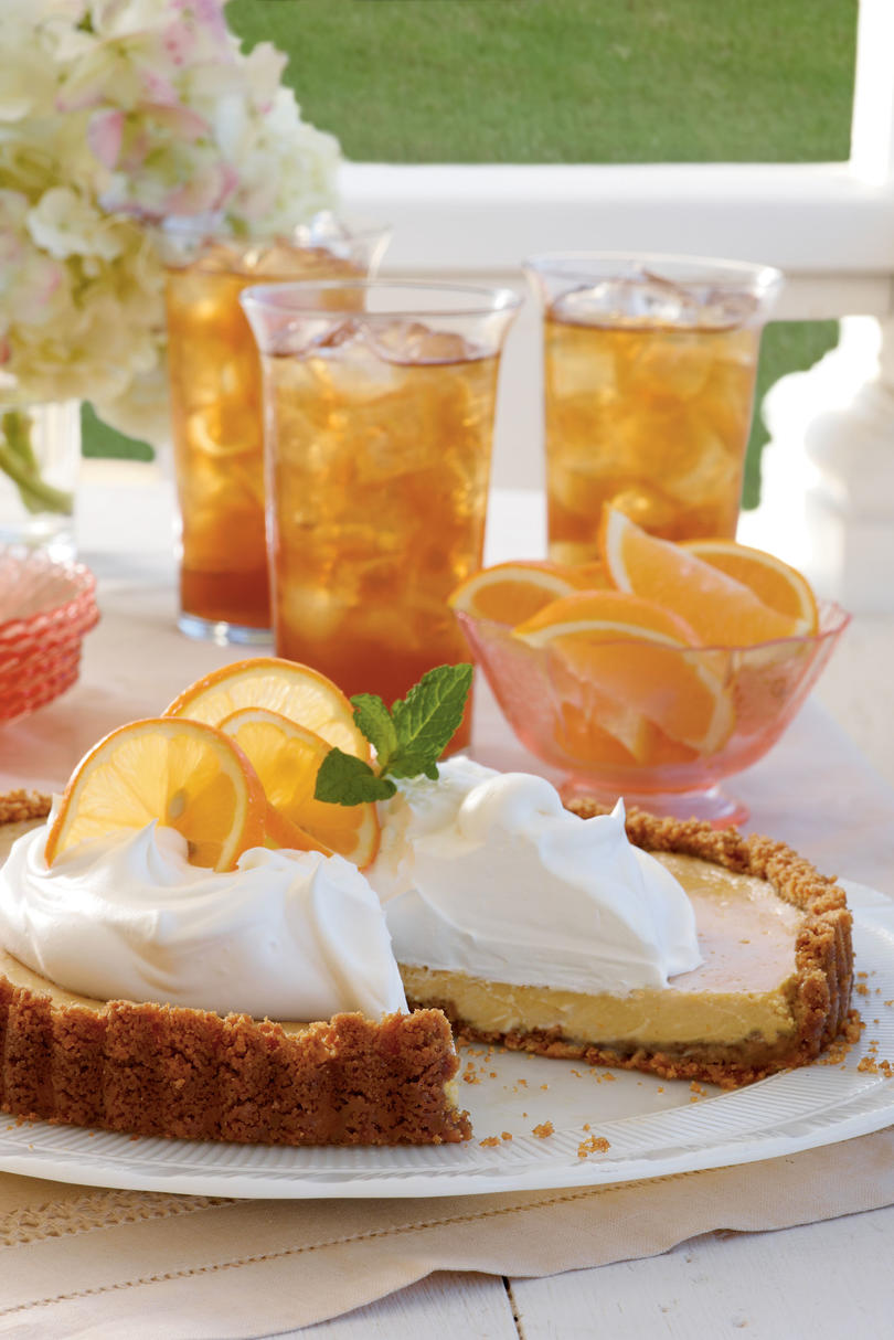Sweet Tea Icebox Tart