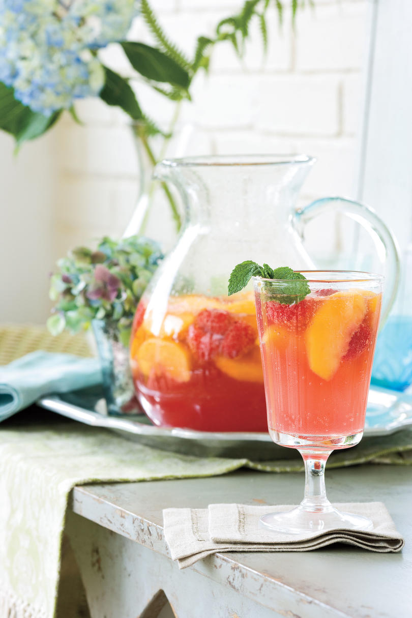 Punch And Cocktail Summer Drink Recipes