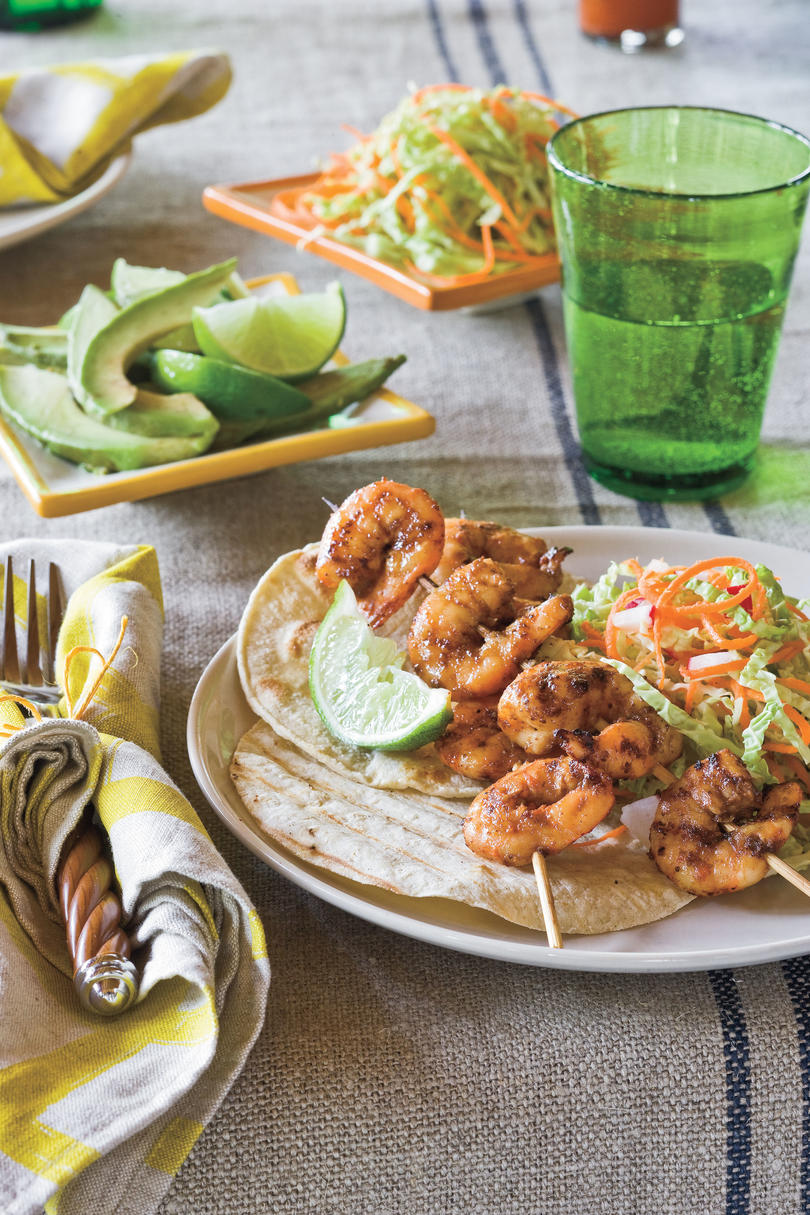 Southern Living Recipe: Southwest Shrimp Tacos