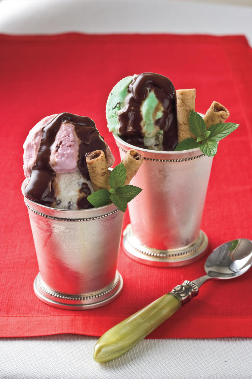 Christmas Recipes: Triple Mint Sundaes
