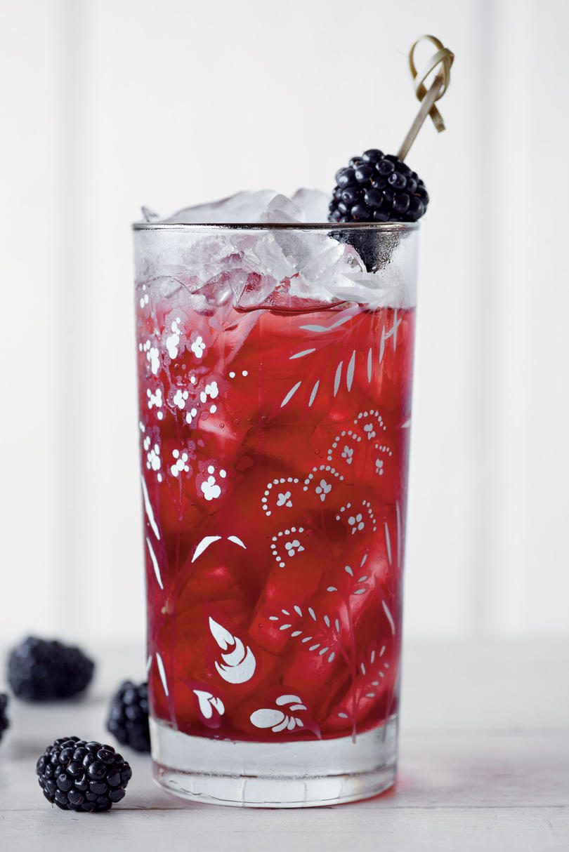 Blackberry Sweet Tea
