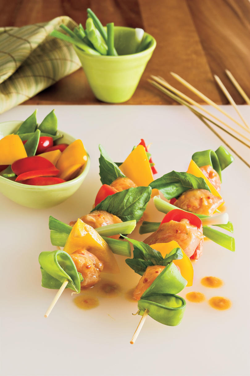 how to cook chicken kabobs