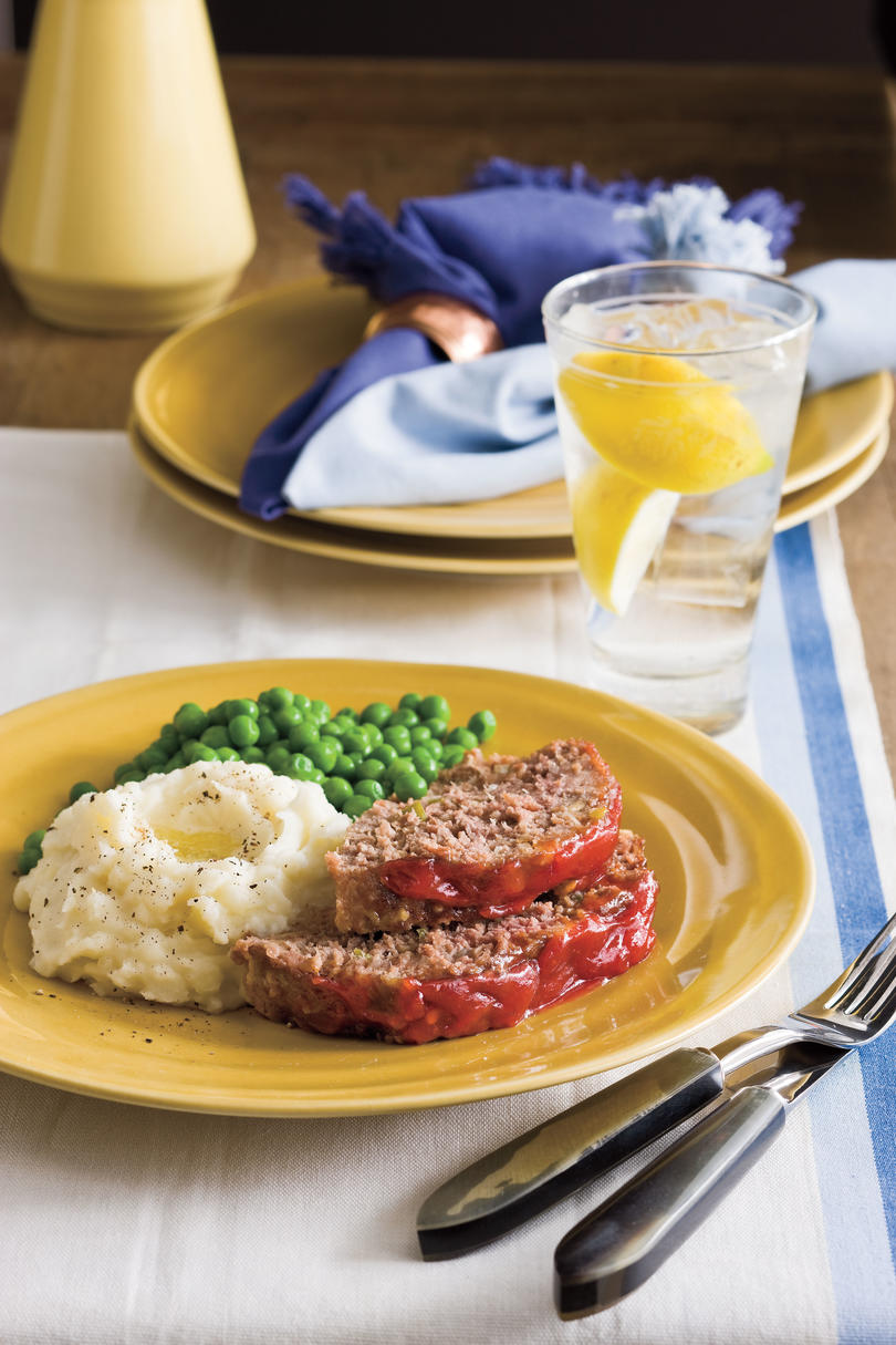 Southern Living Recipe: Bev's Famous Meatloaf