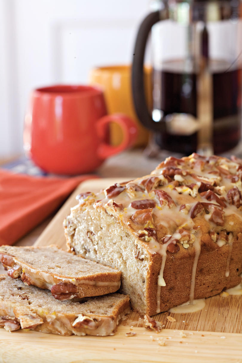 10 delicious banana bread recipes southern living cream cheese banana nut bread forumfinder Images