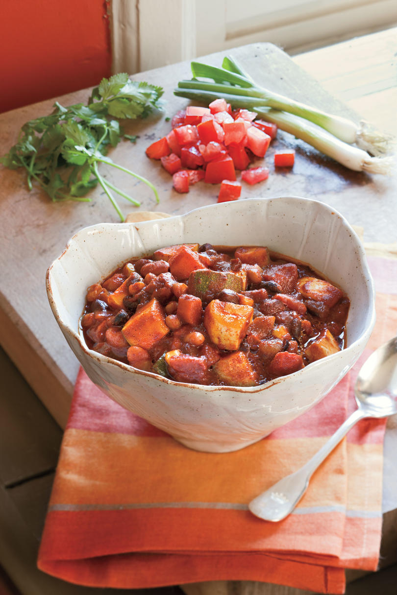 Hearty Veggie Chili