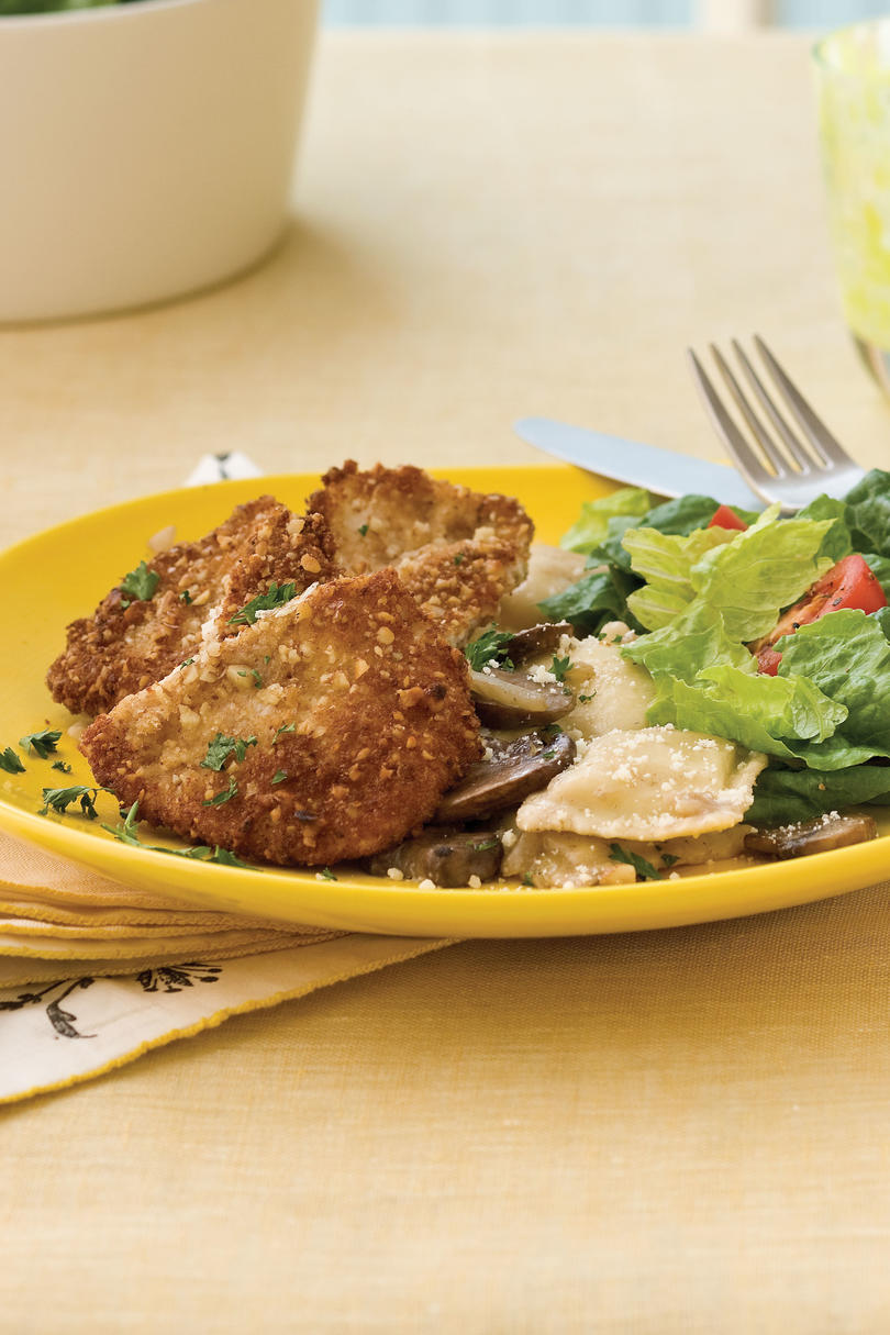 Easy Turkey Recipes: Nutty Turkey Cutlets