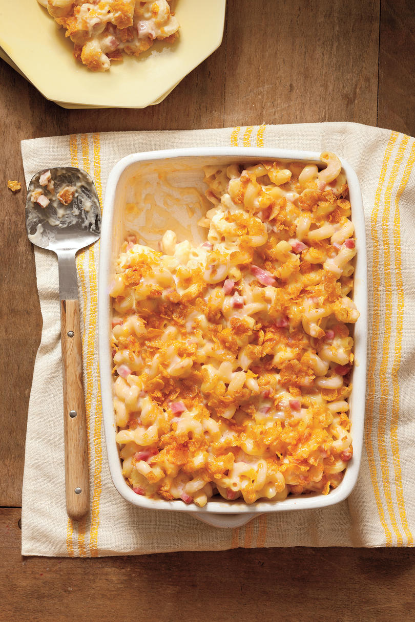Baked Smokin' Macaroni and Cheese