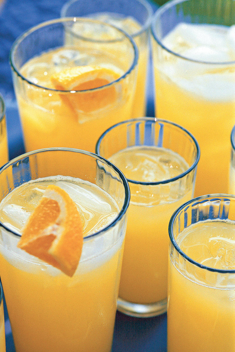 Punch and Cocktail Summer Drink Recipes: Homemade Orange Soda