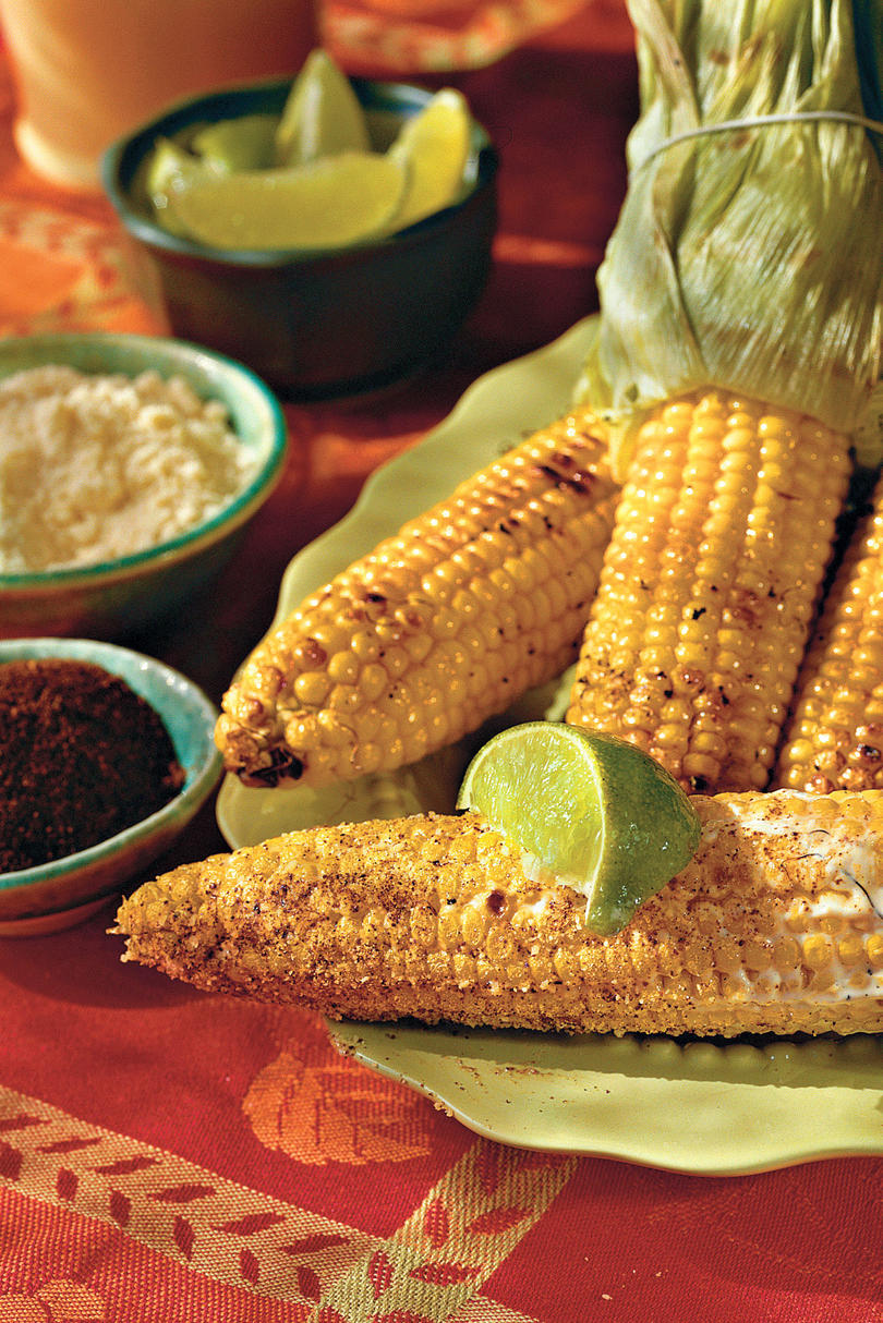 RX_1006 FDC Grilled Corn in the Style of Oaxaca