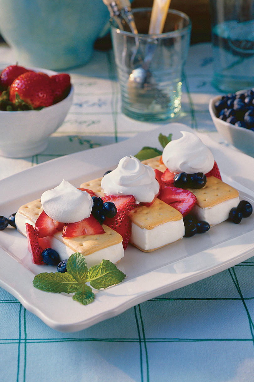 Red, White, Blue--and Delicious