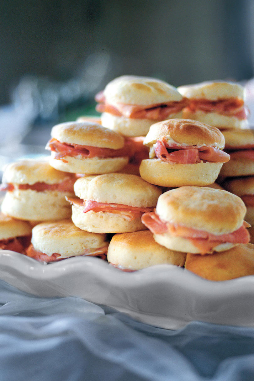 picture Ham and Chutney Biscuits
