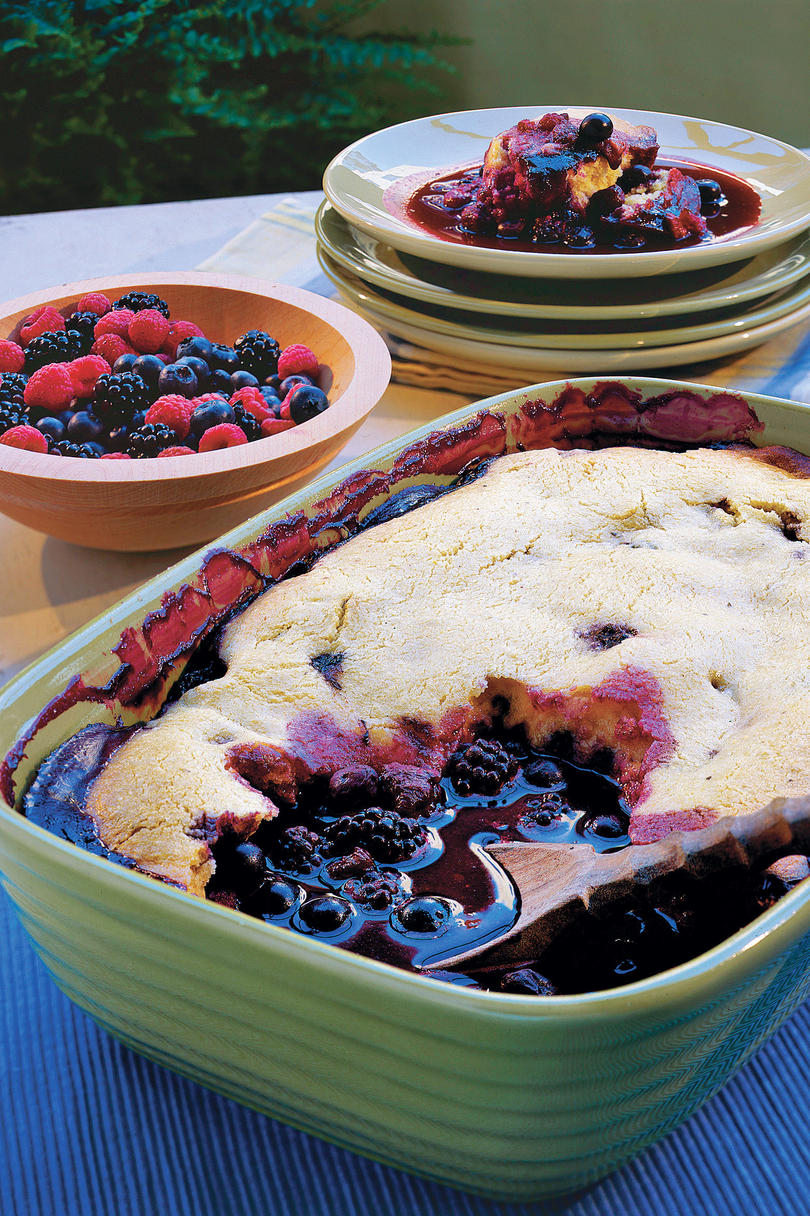 Fresh Berry Cobbler Recipe