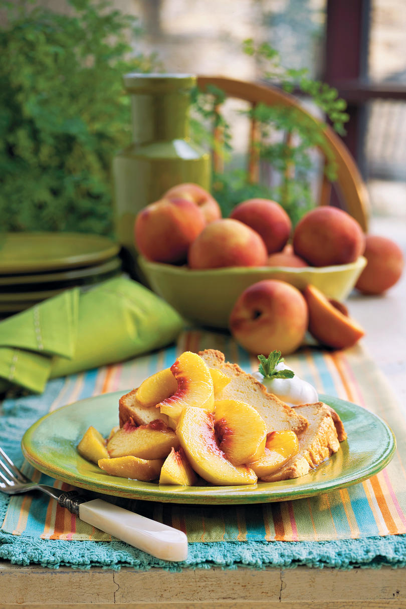 Summer Peach Recipes - Southern Living