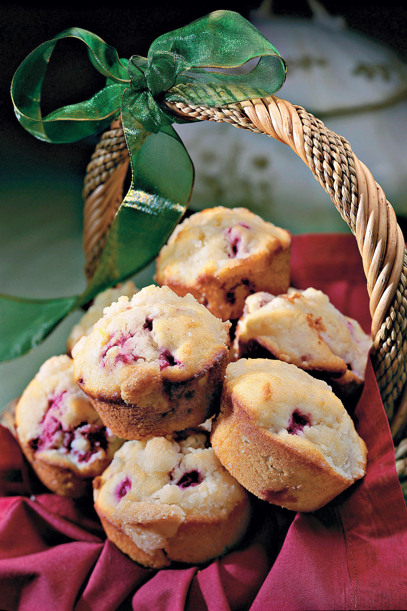 Muffins and Bread Recipes: Lemon-Raspberry Muffins